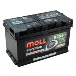 Moll EFB 82080 80Ah Start Stop Autobatterie