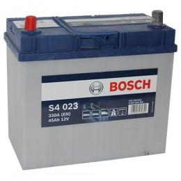 Bosch S4 023 45Ah 330A Autobatterie Pluspol links