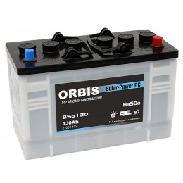 Orbis BSo130 Deep Cycle Solar-Power DC 12V 130Ah Solarbatterie