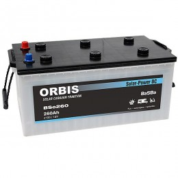 Orbis BSo260 Deep Cycle Solar-Power DC 12V 260Ah Solarbatterie