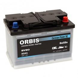 Orbis BV80 Caravan-Power Dual DC 12V 80Ah