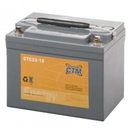 CTM CTC 33-12 GEL 12V 33Ah Traktionsbatterie