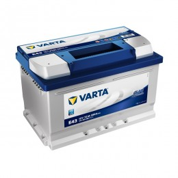 Varta E43 Blue Dynamic 572 409 068 Autobatterie 72Ah
