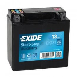 Exide EK131 Start-Stop Auxiliary 13Ah 200A AGM Stützbatterie AUX 14