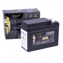 Intact 12V 2,5Ah YTR4A-BS Roller Batterie Gel FA einsatzbereit