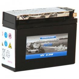 Intact Bike-Power AGM 50420 YT4B-BS Roller-Batterie 12V 2,3Ah