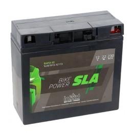 Intact SLA12-22 12V 22Ah 52013 Motorradbatterie für BMW mit ABS