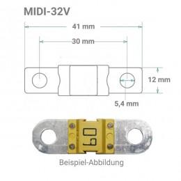 MIDI Sicherung 32V von 30 bis 200A