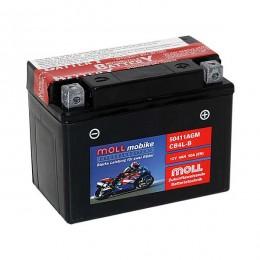 Moll mobike AGM CB4L-B 50411 Roller-Batterie 12V 4Ah