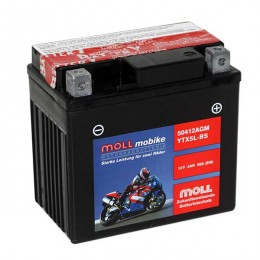 Moll mobike AGM YTX5L-BS 50412 Roller-Batterie 12V 4Ah