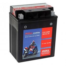 Moll mobike AGM CB14L-A2 51411 Motorradbatterie 12V 13Ah