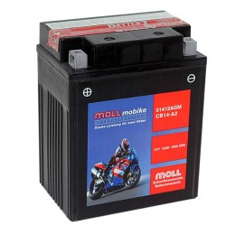 Moll mobike AGM CB14-A2 51412 Motorradbatterie 12V 13Ah