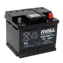 Moll 54012 40Ah 300A Baugeräteakku für Rüttelbeanspruchung