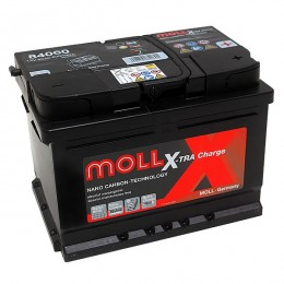 Moll 84060 X-TRA Charge 60Ah 12V Autobatterie
