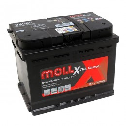 Moll 84062 X-TRA Charge 62Ah 12V Autobatterie