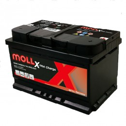 Moll 84075 X-TRA Charge 75Ah 12V Autobatterie
