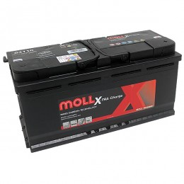 Moll 84110 X-TRA Charge 110Ah 12V Autobatterie