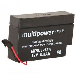 """Multipower MP0.8-12H 0,8Ah 12V Solar Rolladen Akku """"Heim und Haus"""""""