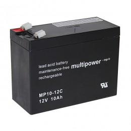 Multipower MP10-12C 12V 10Ah zyklischer Bleiakku