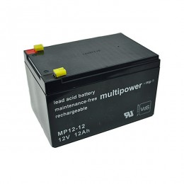 Multipower MP12-12 Bleiakku 12Ah 12V VdS