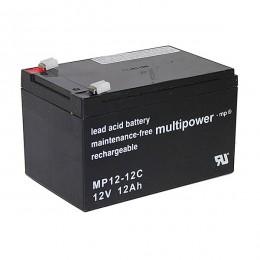 Multipower MP12-12C 12V 12Ah Bleiakku
