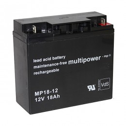 Multipower MP18-12 Blei Akku 18Ah 12V M5 VdS