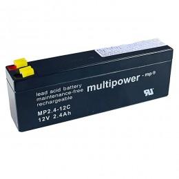 Multipower 12V 2,4Ah Cyclic MP2.4-12C AGM Bleiakku
