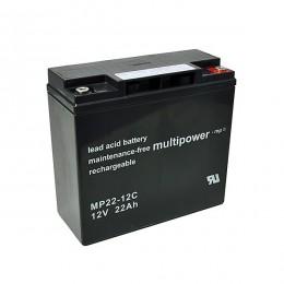 Multipower MP22-12C 12V 22Ah zyklischer Bleiakku