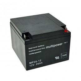 Multipower MP26-12 Bleiakku 26Ah 12V VdS