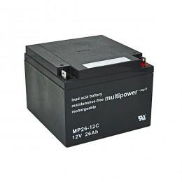 Multipower MP26-12C 12V 26Ah zyklischer Bleiakku