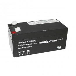 Multipower 12V 3Ah Cyclic MP3-12C AGM Bleiakku