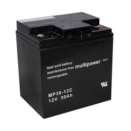 Multipower MP30-12C 12V 30Ah zyklischer Bleiakku