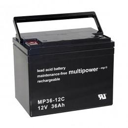 Multipower MP36-12C 12V 36Ah zyklischer Bleiakku