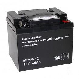 Multipower MP45-12 Bleiakku 45Ah 12V M6 VdS
