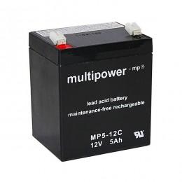 Multipower 12V 5Ah Cyclic MP5-12C AGM Bleiakku
