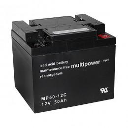 Multipower MP50-12C 12V 50Ah zyklischer Bleiakku