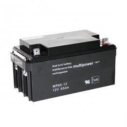 Multipower MP65-12 Bleiakku 65Ah 12V M6 VdS