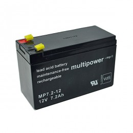Multipower MP7.2-12 Bleiakku 7,2Ah 12V VdS