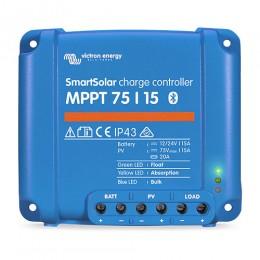 Victron SmartSolar MPPT 75/15 Solarladeregler 12/24V 15A