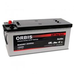 Orbis BAGM150DC AGM Deep Cycle 150Ah 12V