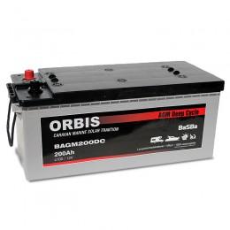 Orbis BAGM200DC AGM Deep Cycle 200Ah 12V
