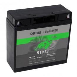 Orbis 12V 21Ah GEL 51913 Motorradbatterie