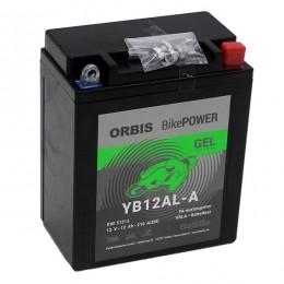 Orbis 12V 12Ah GEL YB12AL-A 51213 Motorradbatterie