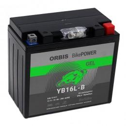 Orbis 12V 19Ah GEL YB16L-B 51911 Motorradbatterie