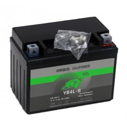Orbis 12V 4Ah GEL YB4L-B 50411 Motorradbatterie
