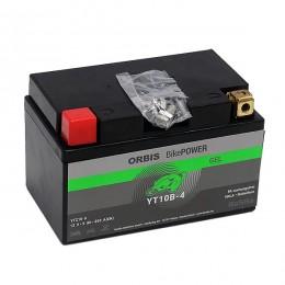 Orbis Motorradbatterie 12V 9Ah Gel YT10B-4 GEL12-10B-4