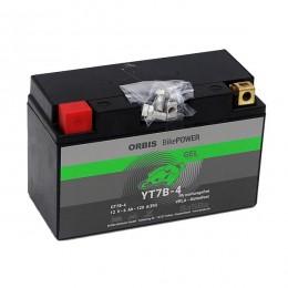Orbis Motorradbatterie 12V 6Ah Gel YT7B-4-S GEL12-7B-4