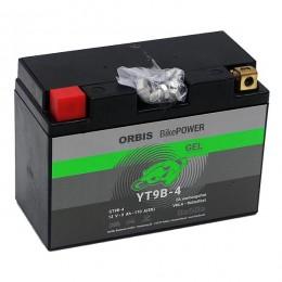 Orbis 12V 8Ah GEL YT9B-4 50801 Motorradbatterie