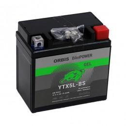 Orbis 12V 4Ah GEL YTX5L-BS 50412 Motorradbatterie