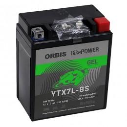 Orbis 12V 6Ah GEL YTX7L-BS 50614 Motorradbatterie
